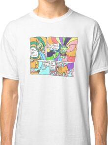 Psychedelic Finger Comic Classic T-Shirt
