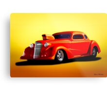 1936 Chevrolet 'Pro Street' Coupe Metal Print