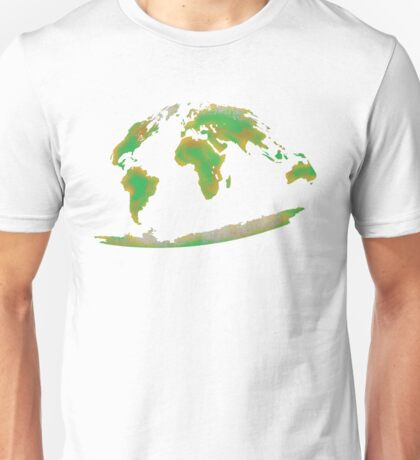 Continents of the World Unisex T-Shirt