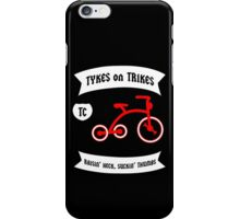 Tykes on Trikes Tricycle Gang (for kids and kids at heart) iPhone Case/Skin
