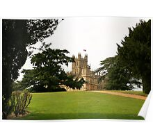 Downton abbey house and grounds Poster