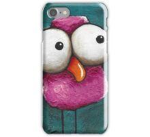The pink bird iPhone Case/Skin