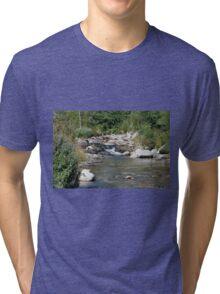 setcases river Tri-blend T-Shirt