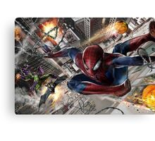Spider-Man vs. Green Goblin Canvas Print