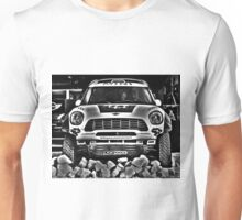 MINI - Adventure - Dakar Rally - Goodwood Festival Of Speed 2014 Unisex T-Shirt