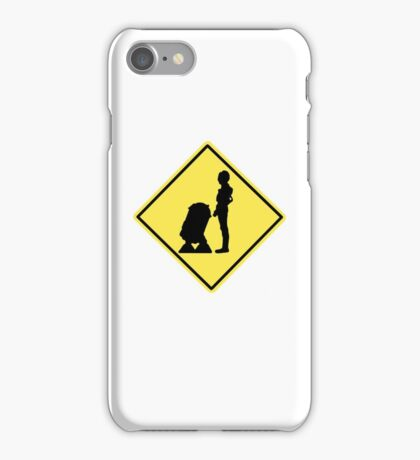 Droid Crossing iPhone Case/Skin