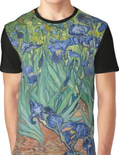 Irises by Vincent van Gogh Graphic T-Shirt