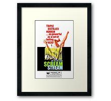 Say You Love Satan 80s Horror Podcast - Scream Stream Framed Print