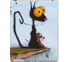 At the Edge of Reason! iPad Case/Skin