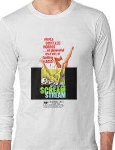 Say You Love Satan 80s Horror Podcast - Scream Stream Long Sleeve T-Shirt