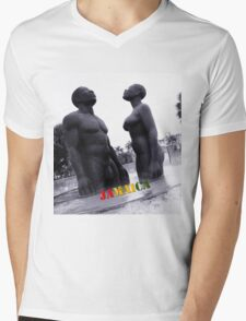 Kingston Sculpture Mens V-Neck T-Shirt