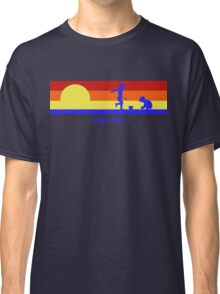 Cape May New Jersey Sunset Beach Vacation Souvenir Classic T-Shirt
