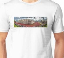 Poppies round the Tower Unisex T-Shirt