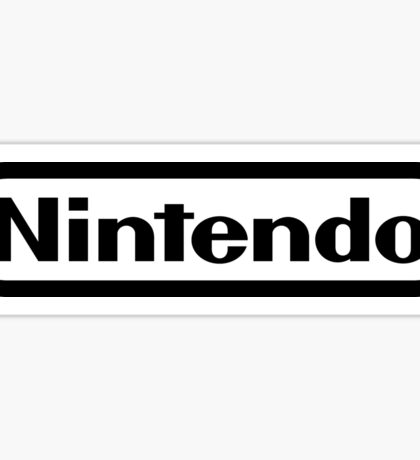 Nintendo 1.0 Sticker