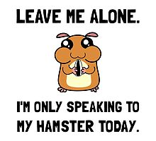Alone Speaking Hamster by TheBestStore