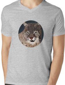 Bobcat Mens V-Neck T-Shirt