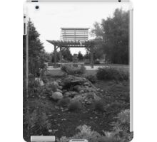 Gray Scale Park  iPad Case/Skin