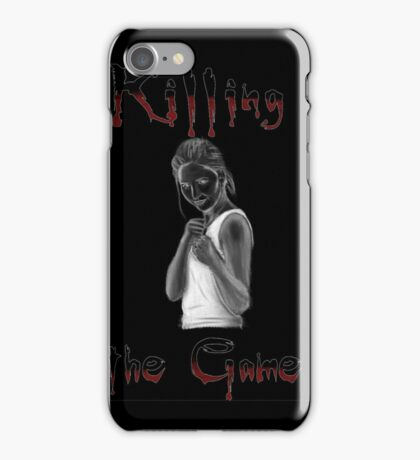 Buffy Killing the Game iPhone Case/Skin
