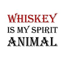 Whiskey Spirit Animal by TheBestStore