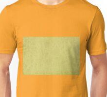 Yellow ragged cardboard texture Unisex T-Shirt