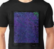 USGS TOPO Map California CA Castle Rock Ridge 289045 1955 24000 geo Inverted Unisex T-Shirt