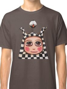 The Harlequin girl & crow Classic T-Shirt