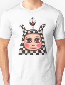 The Harlequin girl & crow Unisex T-Shirt