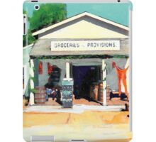 Red Long Johns At The General Store iPad Case/Skin