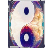 Light And Dark Energies Abstract Symbol Art iPad Case/Skin