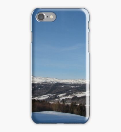 Snowy Mountains iPhone Case/Skin
