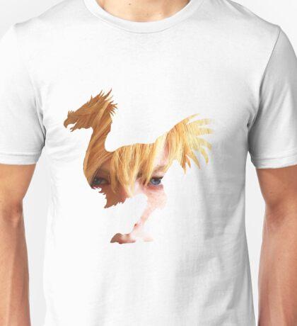 Prompto face chocobo Unisex T-Shirt