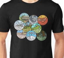 Star Wars Planets Unisex T-Shirt