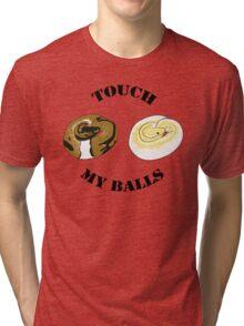 Ball Python T-shirt - Touch Tri-blend T-Shirt