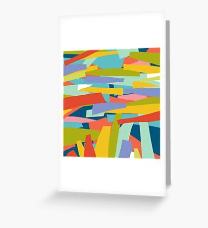 Broken Landscape Two Greeting Card