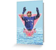 Josh Donaldson - Flower Crown Greeting Card