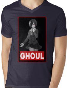 Touka Tokyo Ghoul Mens V-Neck T-Shirt