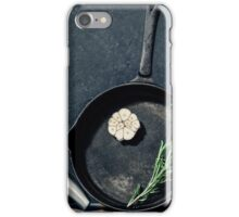 Cooking beef steak iPhone Case/Skin