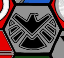 Avengers Assemble - Minimal Comic Hero Logo Sticker
