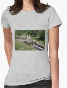 setcases river Womens Fitted T-Shirt