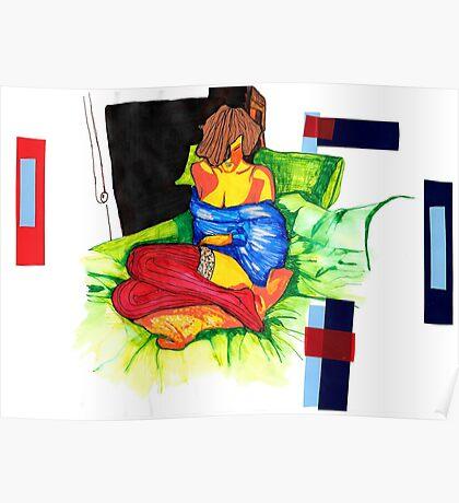 Fashion' girl Poster
