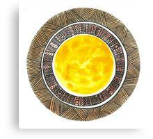 Shades of the Sun Canvas Print