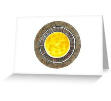 Shades of the Sun Greeting Card