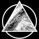 Paved Pyramid White by Sam Blower