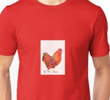 A Red Rooster Unisex T-Shirt