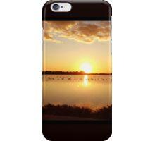 Sunset at Salt lake Larnaca  iPhone Case/Skin