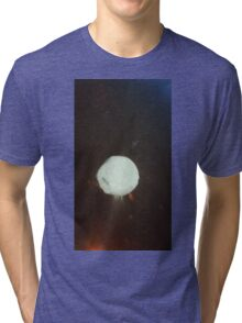 Moon Between Two Forces Tri-blend T-Shirt