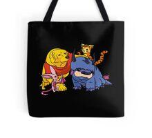 Naga the Poohlar Bear Dog & Friends Tote Bag