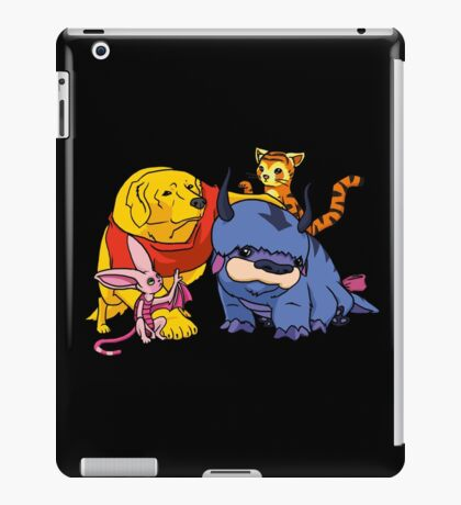 Naga the Poohlar Bear Dog & Friends iPad Case/Skin