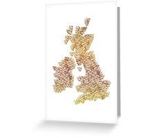 CATography- UK & Ireland (colour) Greeting Card