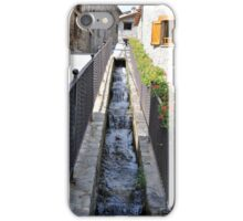 stream passing through the houses iPhone Case/Skin